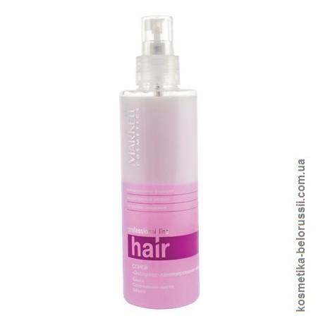 Спрей Экспресс-ламинирование волос Professional hair line Markell блеск сохранение цвета объем