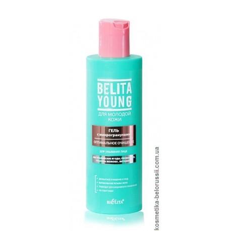 Гель для умывания Оптимальное очищение Bielita Young Белита