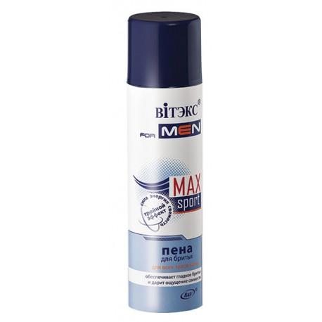 Пена для бритья Sport Max Витэкс для всех типов кожи