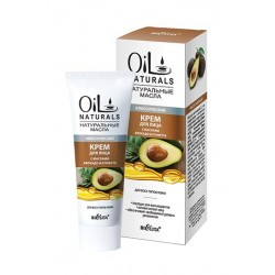 Крем Классический Oil Naturals Белита для лица с маслом авокадо и кунжута для всех типов кожи