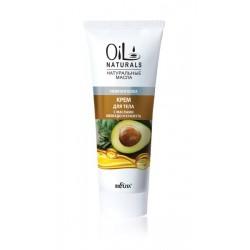 Крем Нежная кожа Oil Naturals Белита для тела с маслом авокадо и кунжута