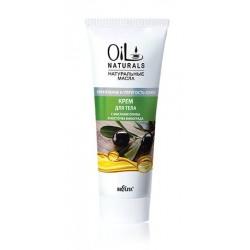 Крем Укрепление и упругость кожи Oil Naturals Белита для тела с маслом оливки и косточек винограда