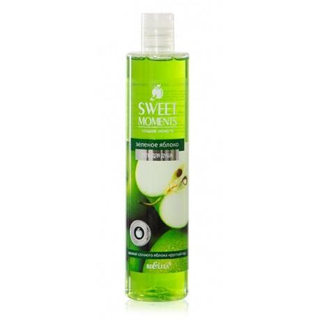 Гель для душа Зеленое яблоко Sweet Moments Белита