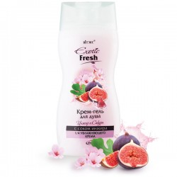 Крем-гель для душа Exotic Fresh Инжир и Сакура