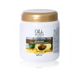 Бальзам Объем и сияние Oil Naturals Белита с маслом авокадо и кунжута для всех типов волос