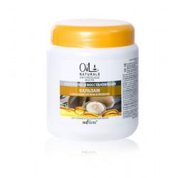 Бальзам Укрепление и восстановление Oil Naturals Белита с маслом арганы и жожоба для тонких волос