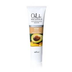 Крем для рук Питание и смягчение Oil Naturals Белита с маслом авокадо и кунжута