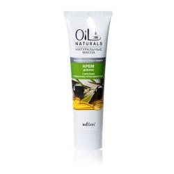 Крем для рук Ежедневный уход Oil Naturals Белита с маслом оливки и косточек винограда