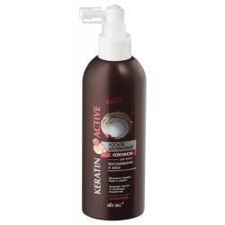 Двухфазный лосьон Keratin active Витэкс для волос с кератином