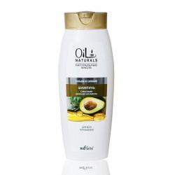 Шампунь Объем и сияние Oil Naturals Белита с маслом авокадо и кунжута для всех типов волос