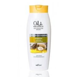 Шампунь Укрепление и восстановление Oil Naturals Белита с маслом арганы и жожоба для тонких ослабленных волос