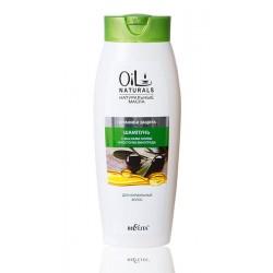 Шампунь Питание и защита Oil Naturals Белита с маслом оливки и косточек винограда для нормальных волос