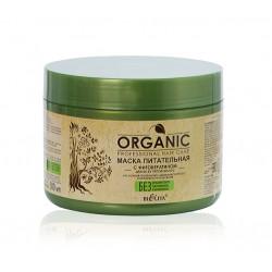 Маска питательная Professional Organic Hair Care с фитокератином
