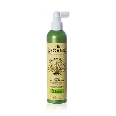 Спрей-фитокератин Organic Hair Care Белита для всех типов волос несмываемый