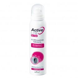 Дезодорант-антиперспирант Абсолютная свежесть Active Life Белита для женщин
