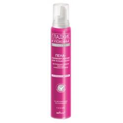 Пена-ламинирование для укладки волос Гладкие и ухоженные Белита экстримально сильная фиксация