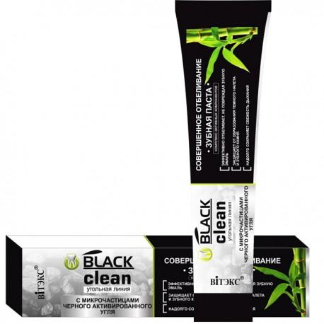 Зубная паста Совершенное отбеливание Black Clean Витекс