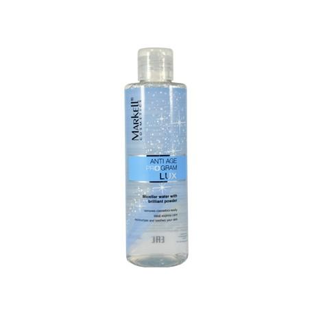 Мицеллярная вода с бриллиантовой пудрой Anti age program Lux Markell