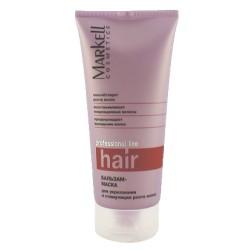 Бальзам-маска Для укрепления и стримуляции волос Professional hair line Markell