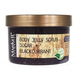 Скраб-желе Сахар и черная смородина Natural line Markell для тела