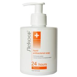 Антибактериальное жидкое мыло Лекос+ Markell