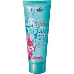 Дневной крем-лифтинг Энергия минералов Aroma Minerale Floralis для лица, шеи и деколье