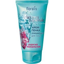 Крем-пенка Энергия минералов Aroma Minerale Floralis для лица очищающая
