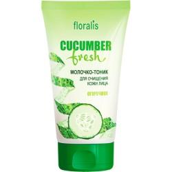 Молочко-тоник Огуречное Cucumber Fresh Floralis