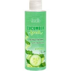 Пенка-пилинг для умывания Огуречная Cucumber Fresh Floralis