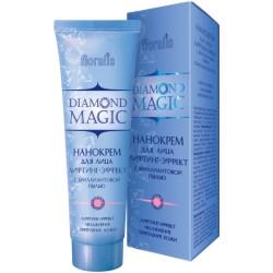 Нанокрем для лица Лифтинг-эффект с бриллиантовой пылью Diamond Magic Floralis