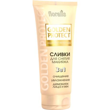 Сливки для снятия макияжа Защита от непогоды Golden Protect Floralis