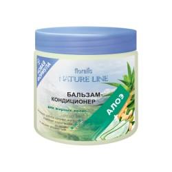 Бальзам-кондиционер Алоэ Nature line Floralis для жирных волос