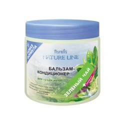 Бальзам-кондиционер Зеленый чай Nature line Floralis для сухих волос