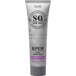 Крем для бритья Противовоспалительный SQ For Men Floralis