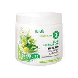 """Бальзам-энергетик для волос """"Нони и Зеленый чай"""", 500г (Floralis)"""