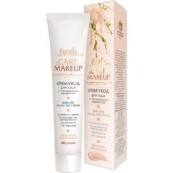 Крем-уход Шелковый персиковый Care & Makeup Floralis для лица с тонирующим эффектом