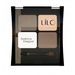 Тени для бровей Eyebrow Designer LiLo