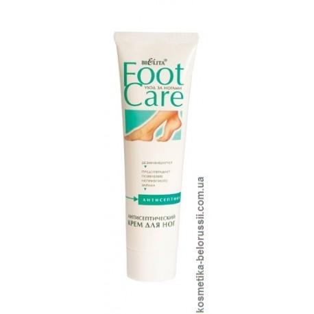 Антисептический крем для ног Уход за ногами Foot Care Белита