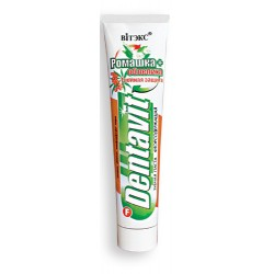 Зубная паста Тройная защита Dentavit Витэкс ромашка и облепиха
