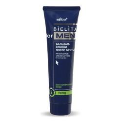 Бальзам-сливки после бритья Bielita for men Белита для нормальной кожи