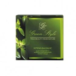 Ночной крем-баланс для лица Green Style Liv Delano