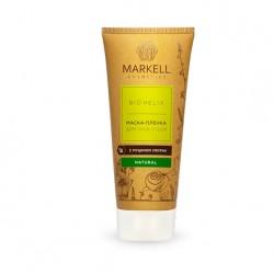 Маска-пленка для лица с муцином улитки Bio Helix Markell