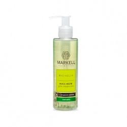 Мусс-желе для умывания с муцином улитки Bio Helix Markell
