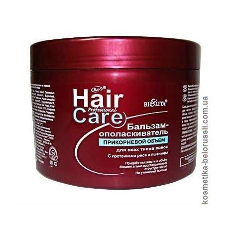 Бальзам-ополаскиватель Прикорневой объем Hair Care Белита для всех типов волос