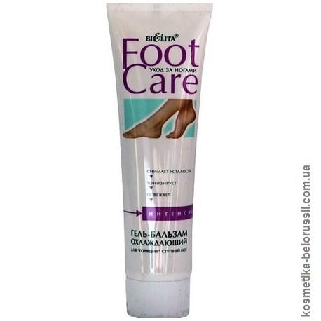 Охлаждающий гель-бальзам Уход за ногами Foot Care Белита для гарячих ступней ног