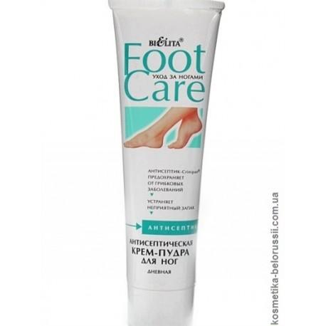 Антисептическая крем-пудра для ног Уход за ногами Foot Care Белита