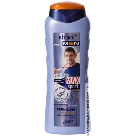 Гель-душ For men Sport Max Витэкс для волос и тела