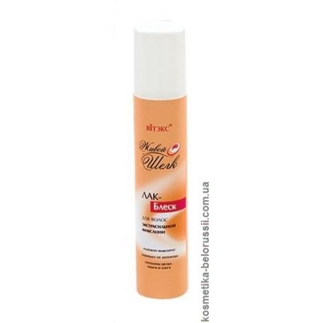 Лак-блеск Живой шелк Витэкс для волос с протеинами шелка ультрасильной фиксации