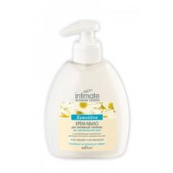 Крем-мыло для интимной гигиены Интимная гигиена Intimate Белита для чувствительной кожи