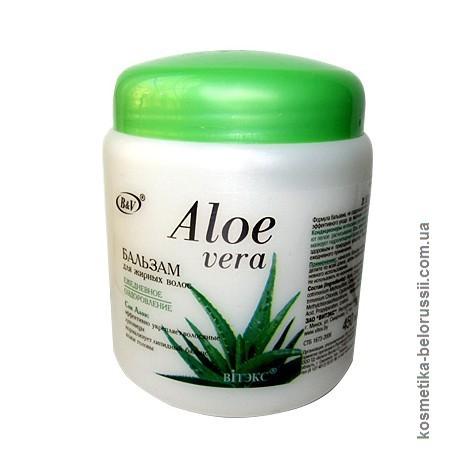 Бальзам Ежедневное оздоровление Алоэ Вера Aloe Vera Витэкс для жирных волос